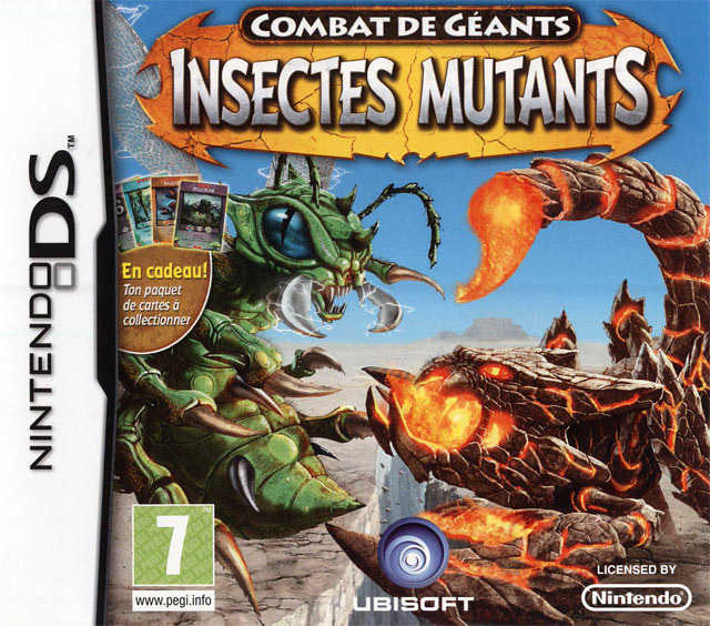 NDS] Combat of Giants - Mutant Insects (EU) URL Raccourcie