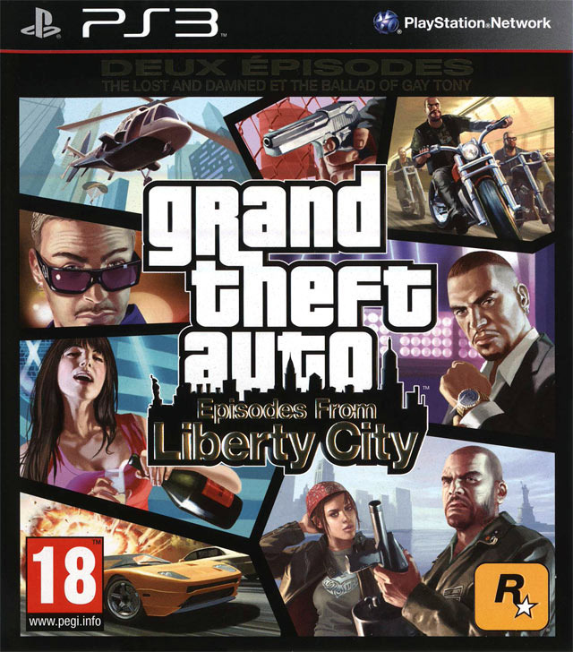 grand theft auto episodes from liberty city ps3. Black Bedroom Furniture Sets. Home Design Ideas