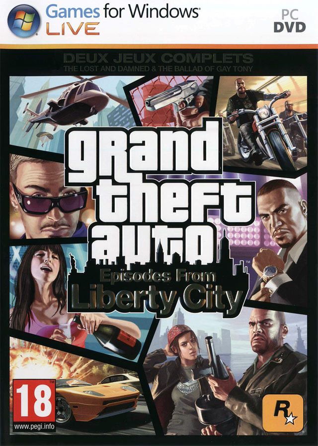 Grand Theft Auto : Episodes From Liberty City PC | Megaupload Multi Lien