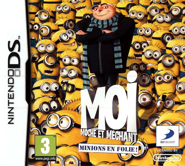 Moi, Moche et Méchant : Minions en Folie ! DS