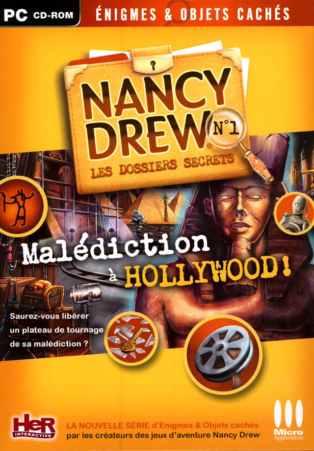 [TB] Nancy Drew - Les Dossiers Secrets : Malédiction à Hollywood [PC - FR]