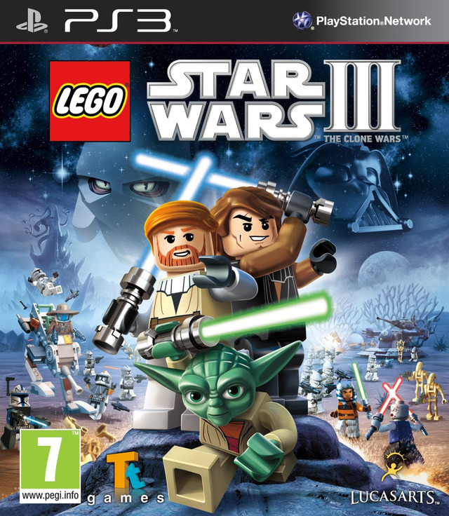 LEGO STAR WARS III THE CLONE WARS EUR PS3-SHiTONLYGERMAN 2011 Multi 3.41-3.55