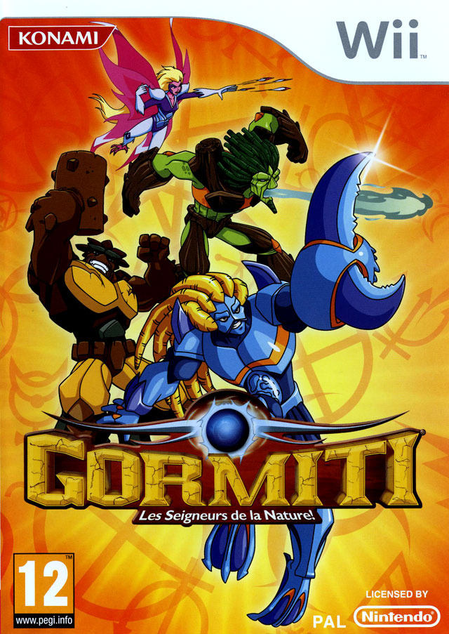 [MULTI] Gormiti : The Lords of Nature ! [Wii]