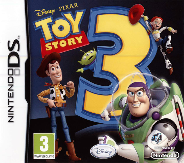 toy story 3 sur nintendo ds. Black Bedroom Furniture Sets. Home Design Ideas
