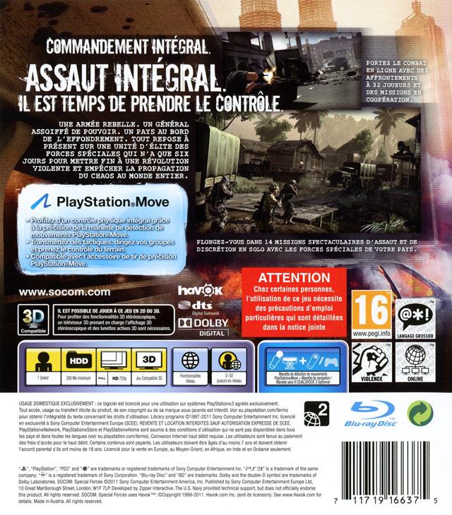 jeuxvideo.com SOCOM : Special Forces - PlayStation 3 Image 2 sur 162