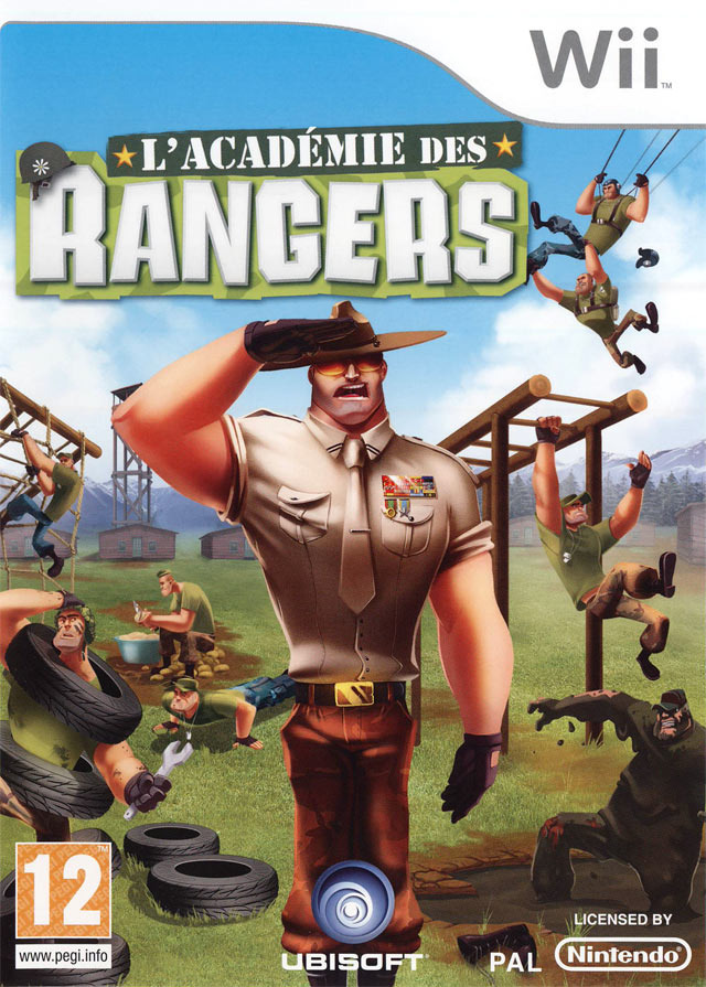 l 39 acad mie des rangers sur wii. Black Bedroom Furniture Sets. Home Design Ideas