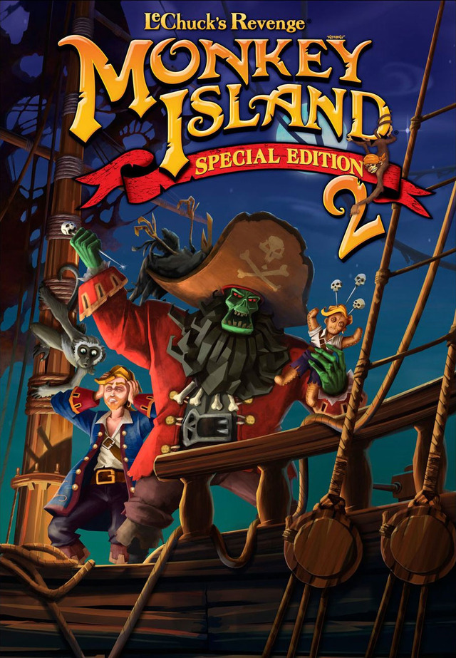 Monkey Island 2 Lechucks Revenge - Special Edition[PC][Multi][1 Link]