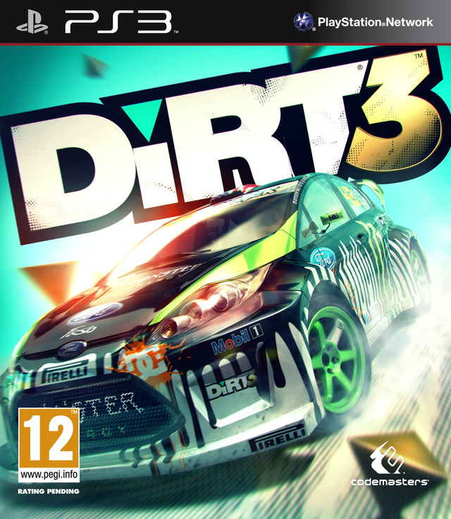 dirt 3 sur playstation 3. Black Bedroom Furniture Sets. Home Design Ideas