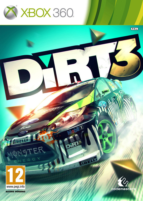 Dirt 3 XBOX360 MARVEL