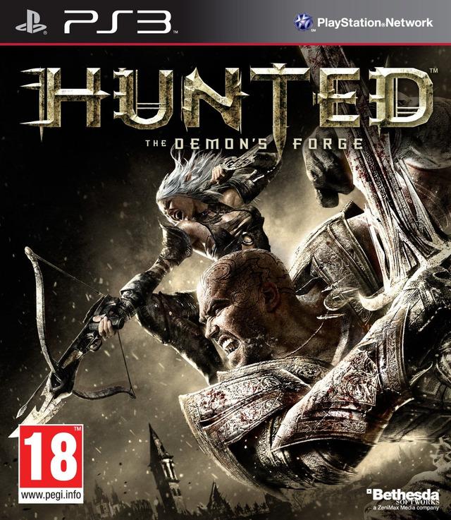 Kết quả hình ảnh cho Hunted The Demon's Forge cover ps3