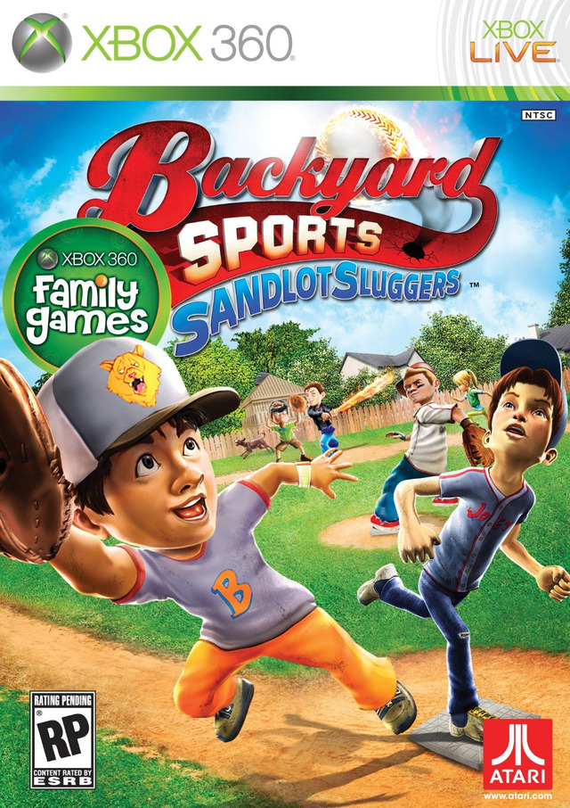 Backyard Sports : Sandlot Sluggers sur Xbox 360 ...