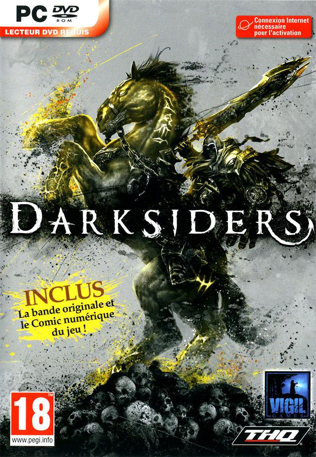 Darksiders Deutsche  Texte, Untertitel, Menüs, Videos, Stimmen / Sprachausgabe Cover