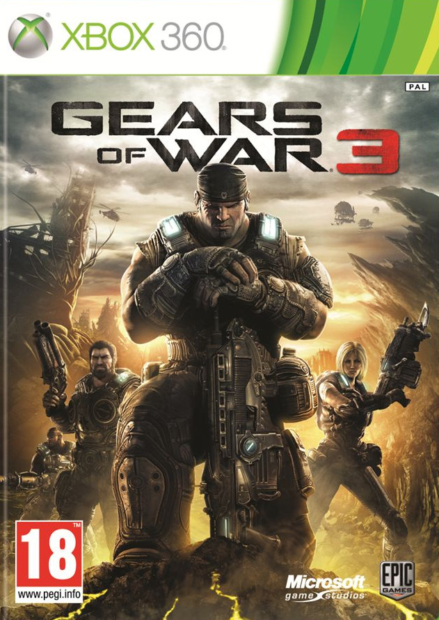 Gears of War 3 [Region Free] [USA] [NTSC] (Exclu) [FS][WU]