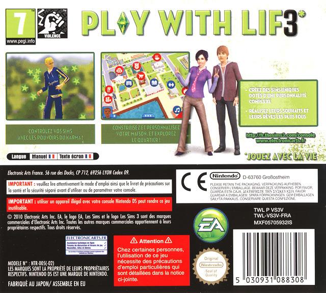 jeuxvideo.com Les Sims 3 - Nintendo DS Image 2 sur 149