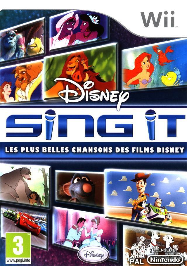 Disney Sing It Les Plus Belles Chansons Des Films Disney