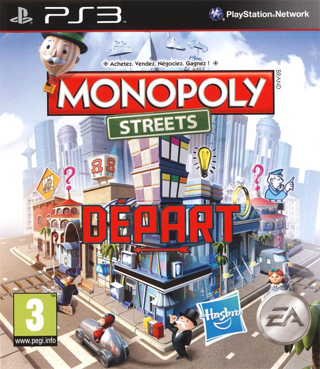 monopoly streets sur playstation 3. Black Bedroom Furniture Sets. Home Design Ideas
