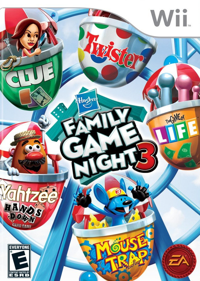 Wii Family Game Night