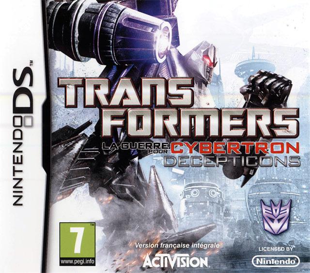 Transformers : La Guerre pour Cybertron - Decepticons DS
