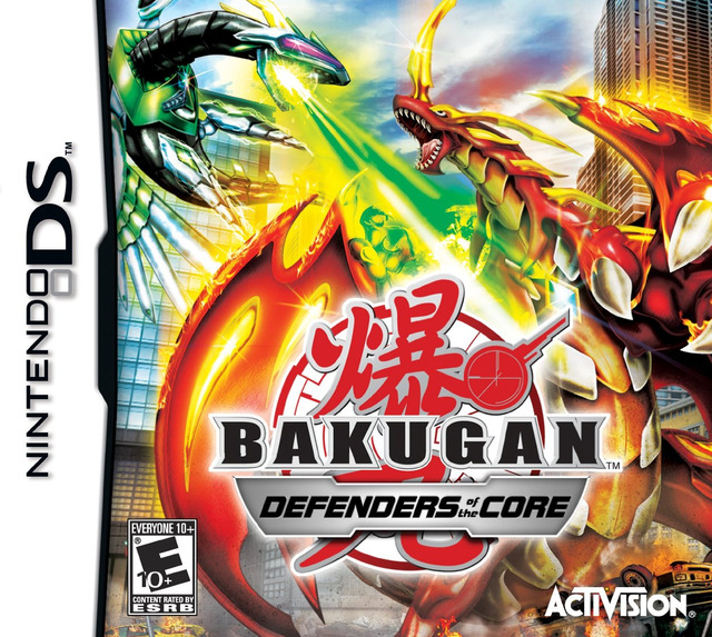jeux bakugan battle brawlers ds