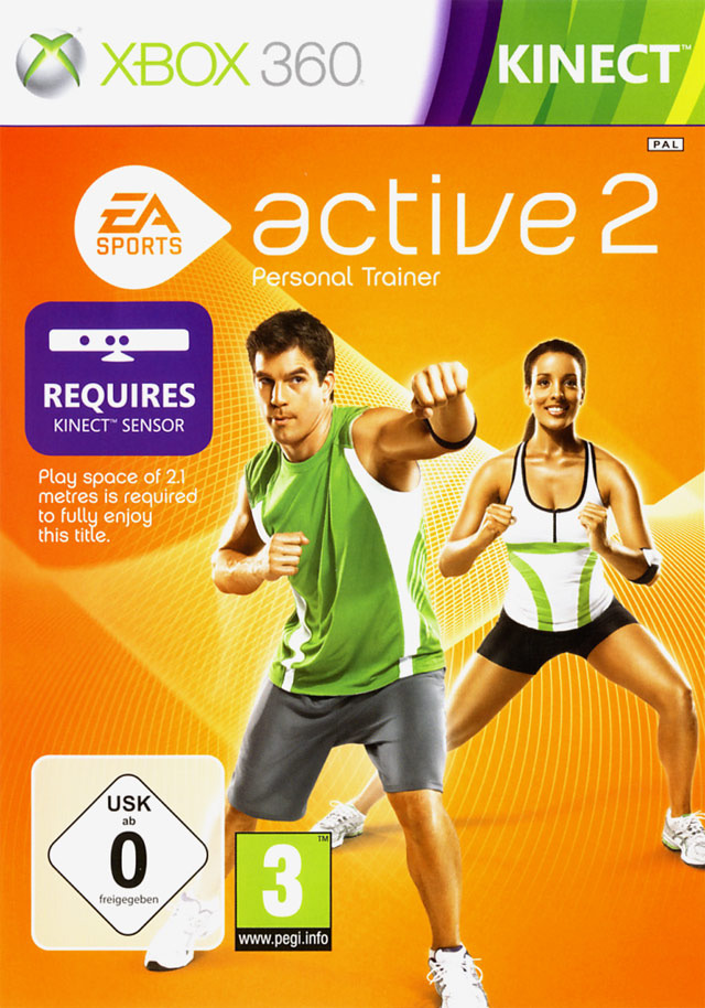 ea sports active 2 sur xbox 360. Black Bedroom Furniture Sets. Home Design Ideas