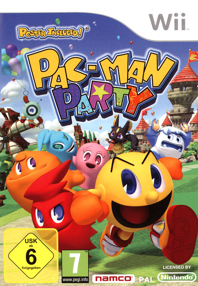 MULTI-HOST]Pac-Man Party[Party Game][PAL][Wii]
