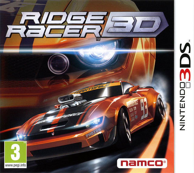 ridge racer 3d sur nintendo 3ds. Black Bedroom Furniture Sets. Home Design Ideas