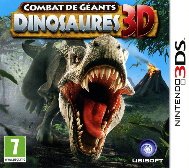 combat de g ants dinosaures 3d sur nintendo 3ds. Black Bedroom Furniture Sets. Home Design Ideas
