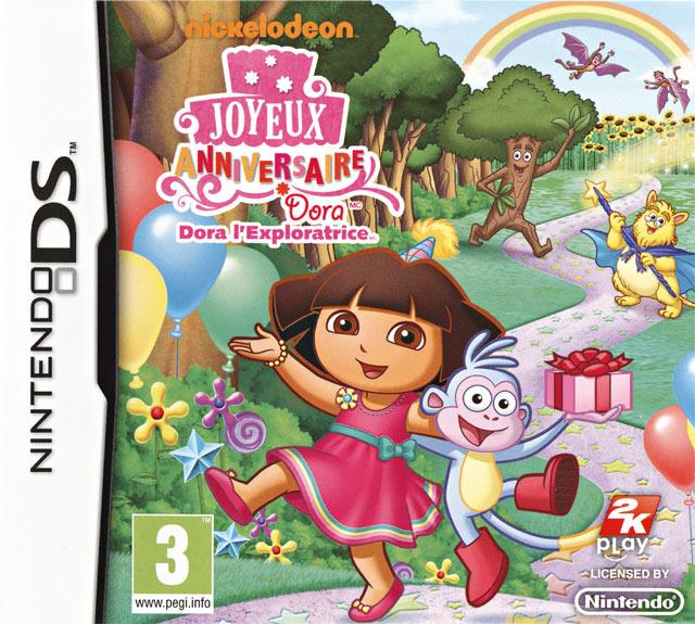 Dora l'Exploratrice : Joyeux Anniversaire DS