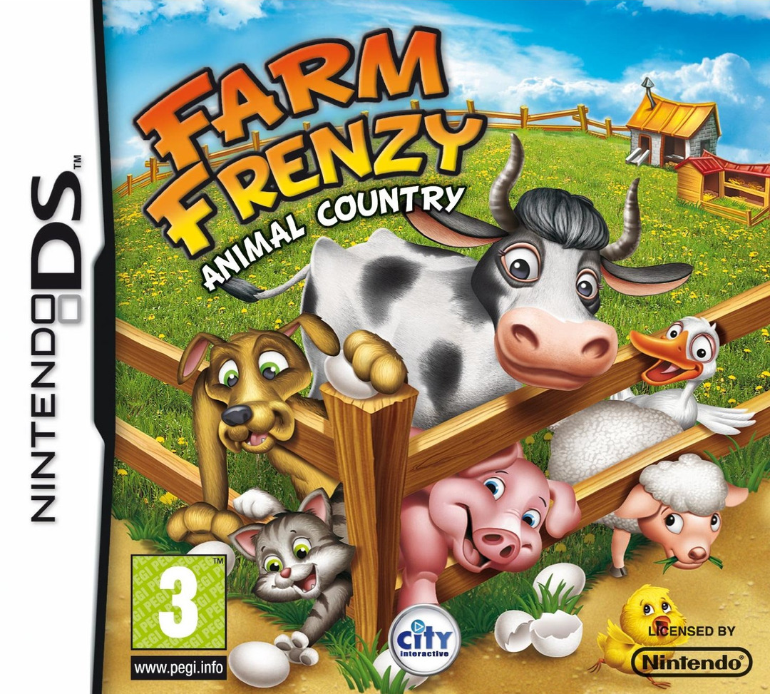 jeuxvideo.com Farm Frenzy : Animal Country - Nintendo DS Image 1 sur 7