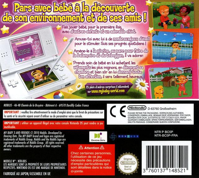 jeuxvideo.com My Baby 3 & Friends - Nintendo DS Image 2 sur 31