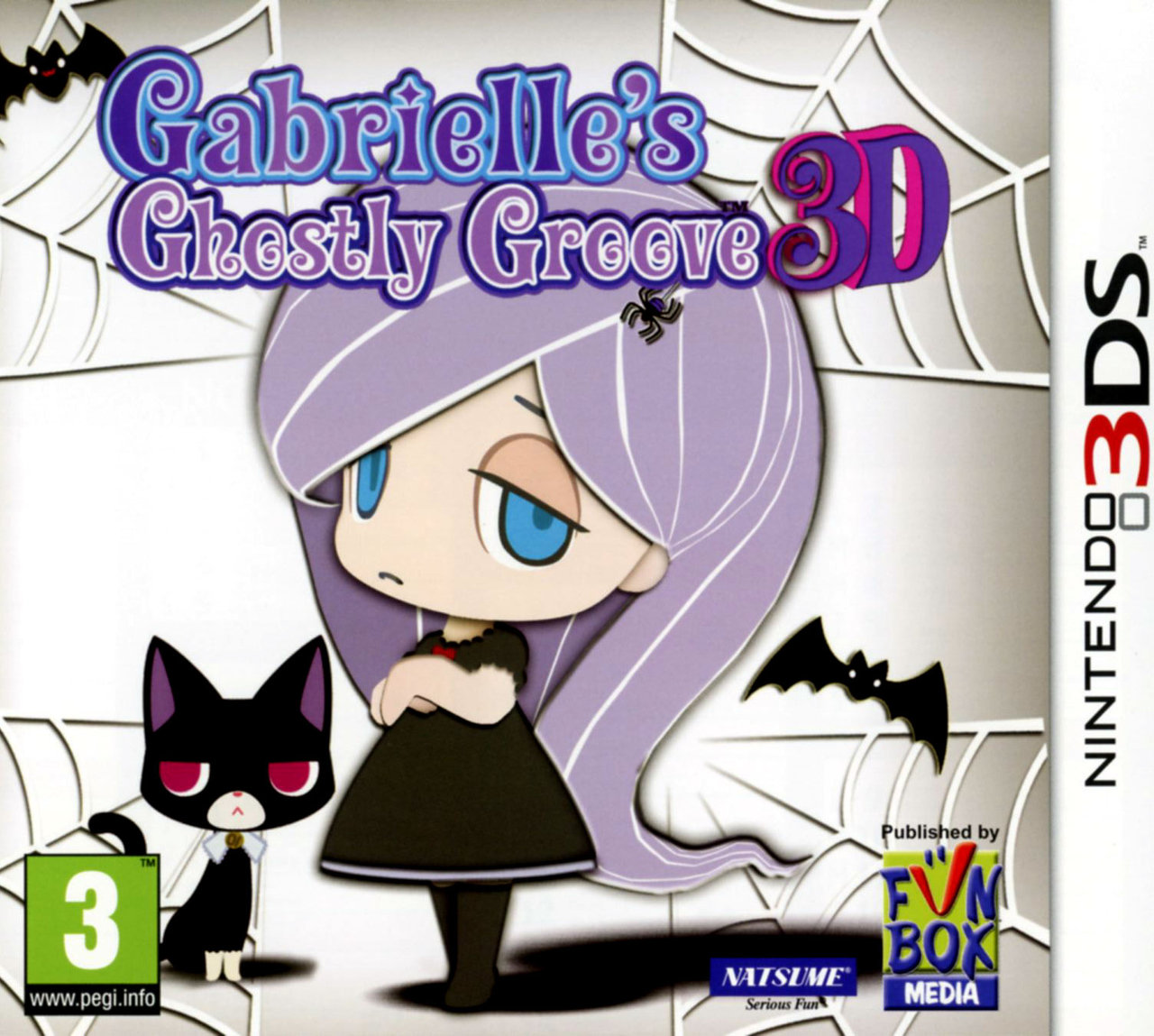 gabrielle 39 s ghostly groove 3d sur nintendo 3ds. Black Bedroom Furniture Sets. Home Design Ideas