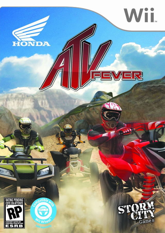 Honda ATV Fever USA WII [FS]
