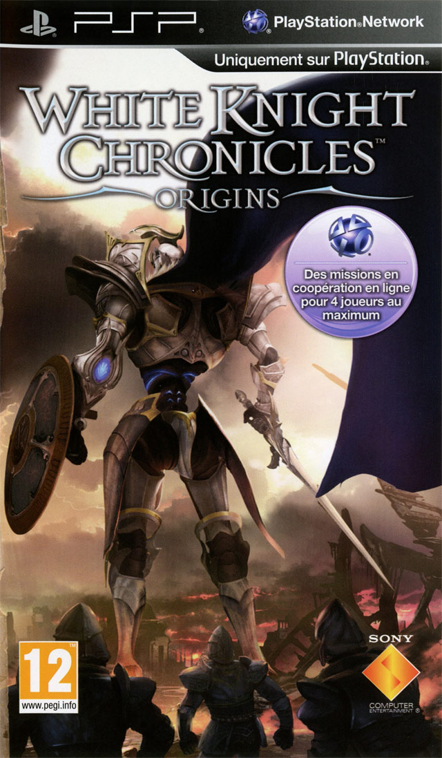 [MULTI]  White Knight Chronicles : Origins  [PSP]