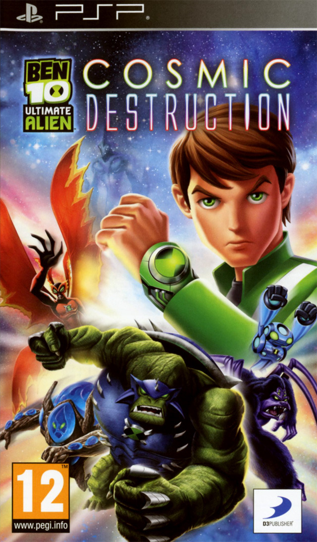 Ben 10 ultimate alien cosmic destruction sur playstation - Jeux info ben 10 ...