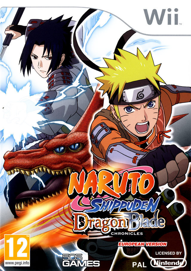 Naruto Shippuden Dragon Blade Chronicles [Wii|Multilangue] [FS|US]