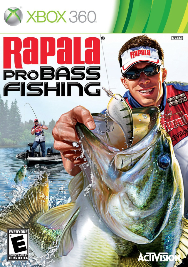 Rapala pro bass fishing sur xbox 360 for Fishing game xbox one