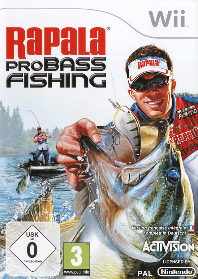 Rapala pro bass fishing sur wii for Ps4 bass fishing games