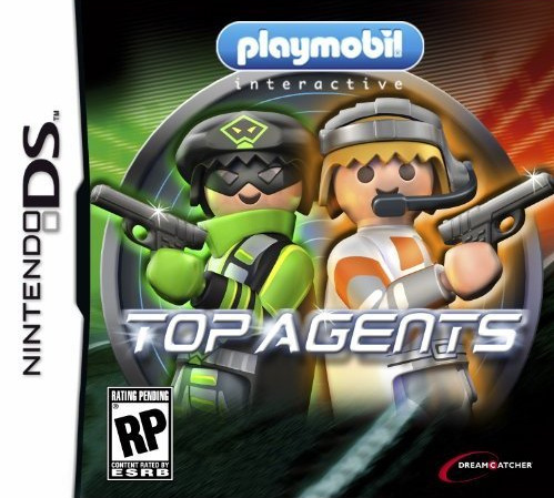 playmobil top agents sur nintendo ds. Black Bedroom Furniture Sets. Home Design Ideas
