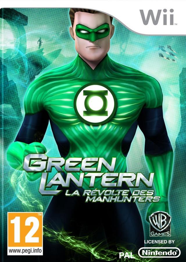 Green Lantern : La Révolte des Manhunters [Wii|NTSC] [MULTI] (Exclue) [FS][US]