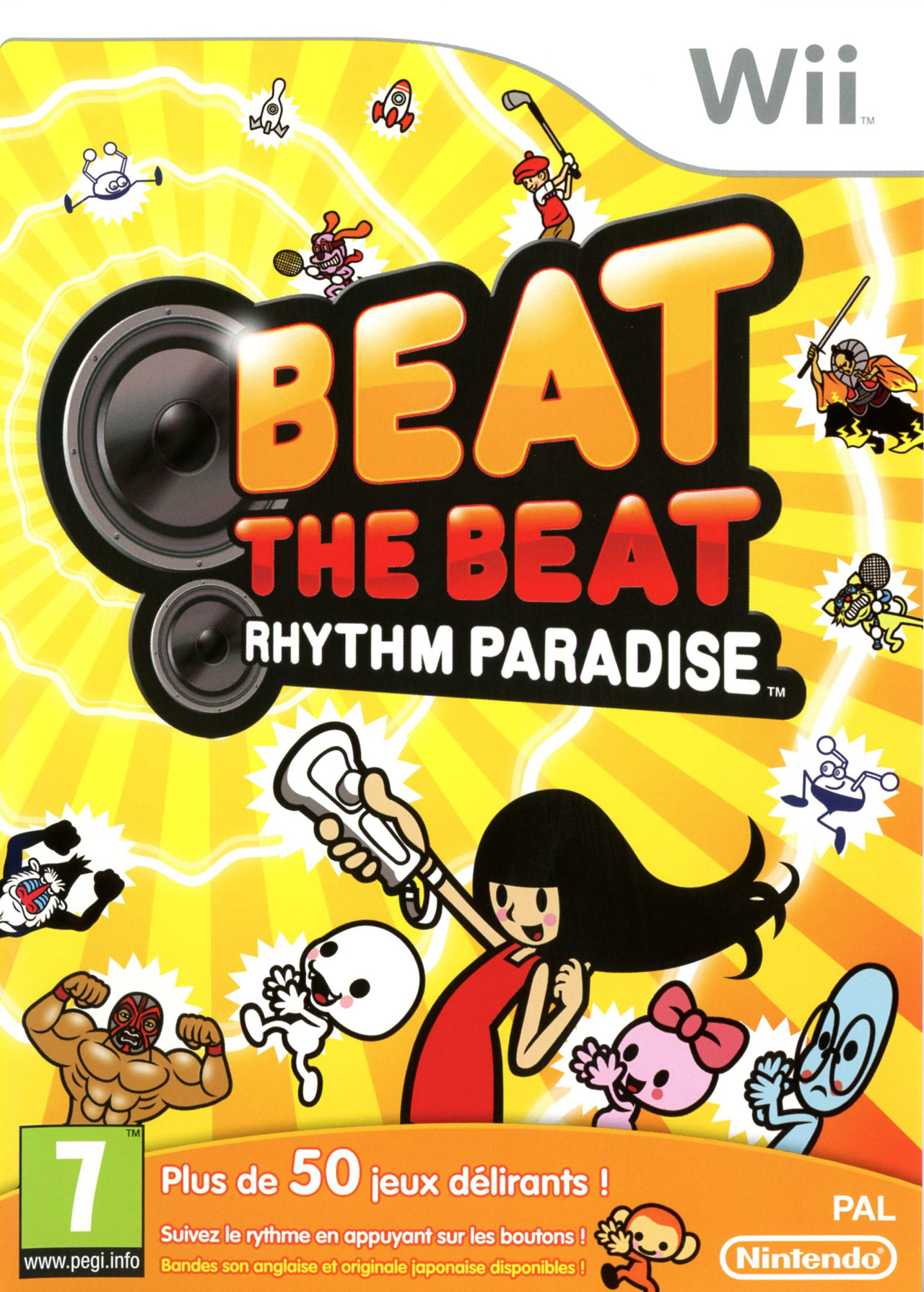 Beat the Beat Rhythm Paradise PAL WII [MULTI]