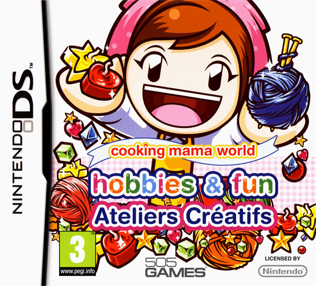 Cooking Mama World : Hobbies and Fun : Ateliers Créatifs DS