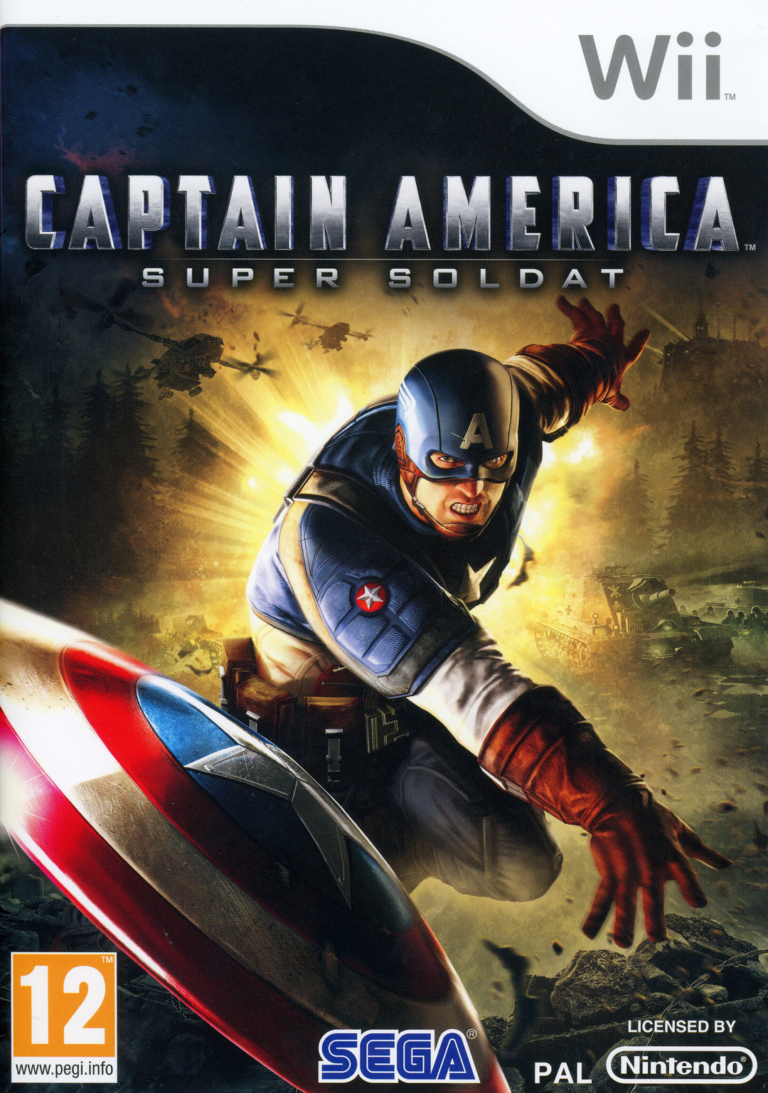 [MULTI] Captain America : Super Soldat [MULTI] [PAL] [Wii]