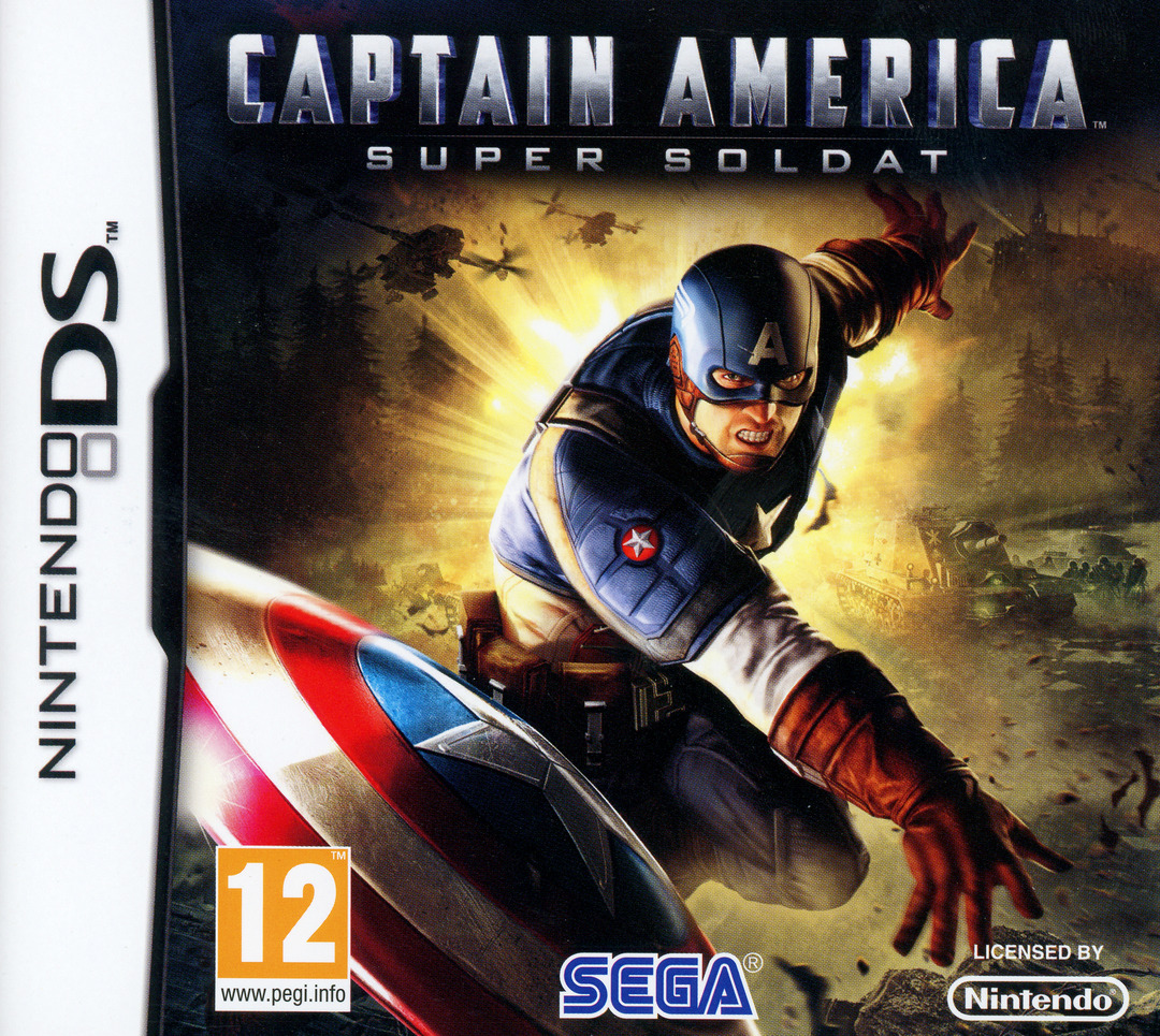 Captain America : Super Soldat DS