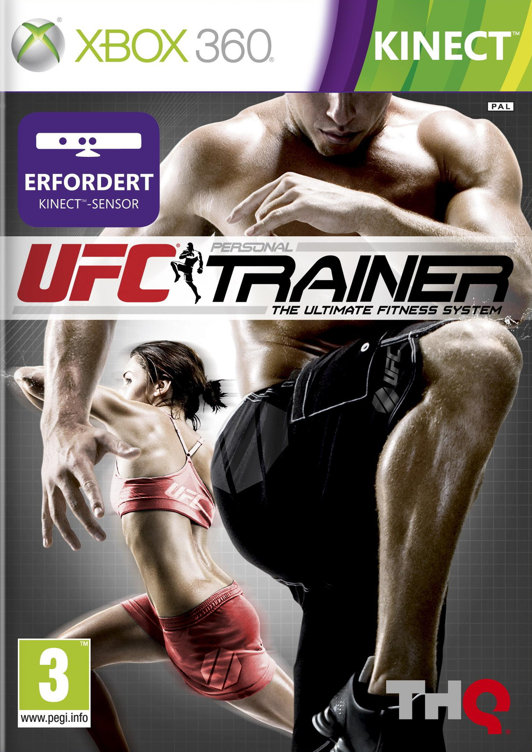 UFC Personal Trainer : The Ultimate Fitness System [XBOX 360] [FREE] [US]
