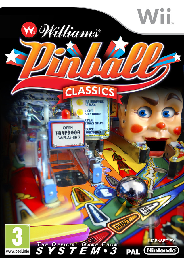 Williams Pinball Classics [PAL] WII (exclue) [FS]