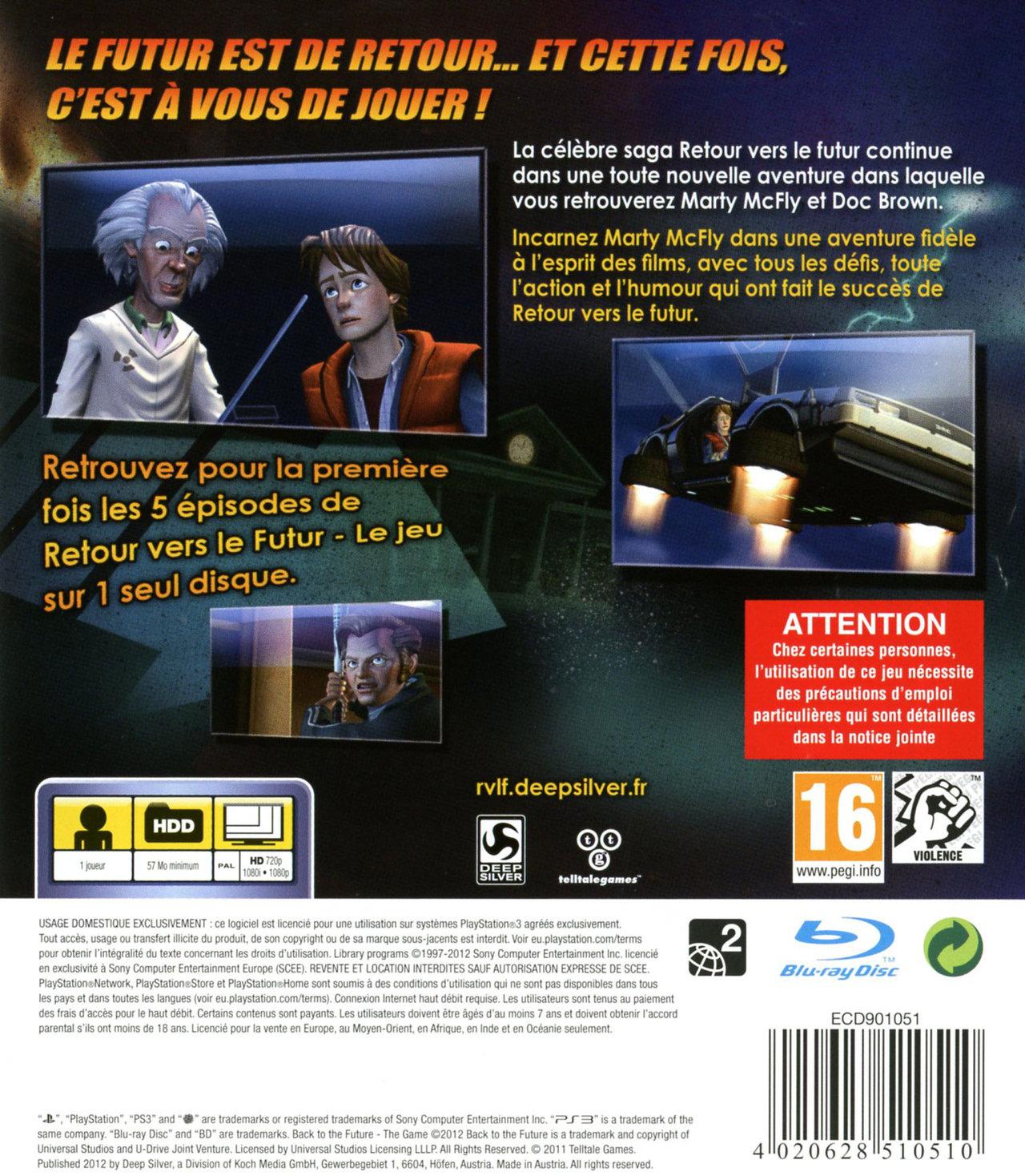 jeuxvideo.com Retour vers le Futur : Le Jeu - PlayStation 3 Image 2