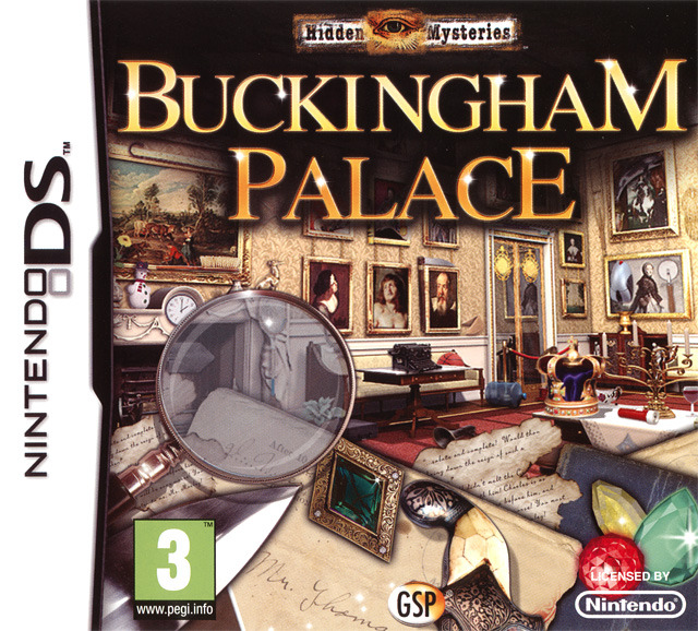 Hidden Mysteries : Buckingham Palace DS
