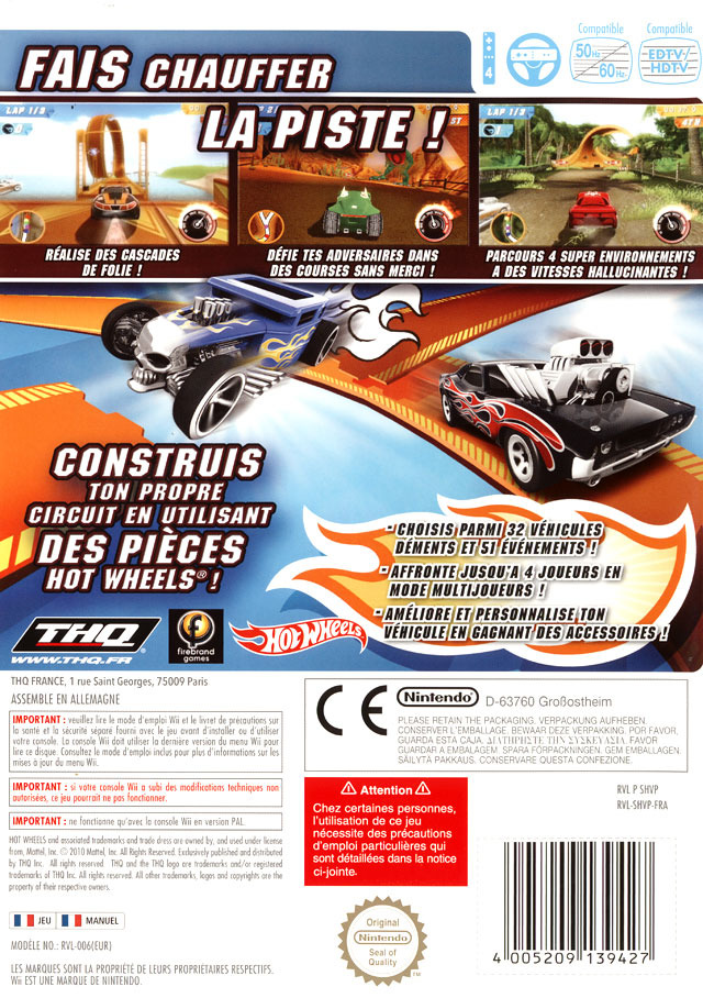 jeuxvideo.com Hot Wheels : Track Attack - Wii Image 2 sur 51