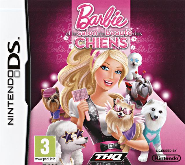 jeuxvideo.com Barbie et le Salon de Beauté des Chiens - Nintendo DS