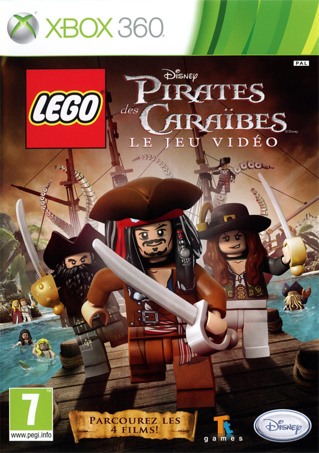 lego pirates des cara bes le jeu vid o sur xbox 360. Black Bedroom Furniture Sets. Home Design Ideas